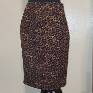 Old Navy Leopard Skirt Size 4